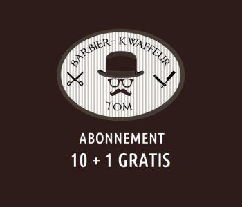 Barbier Tom abonnement 10+1 gratis