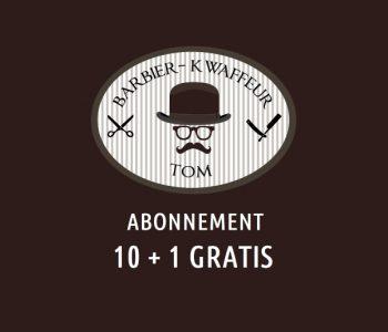 Barbier Tom abonnement 10+1 gratis